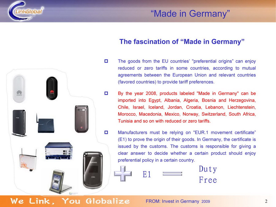 Parchim international airport products labeled made in germany can be imported into egypt albania chile morocco and so on with reduced or zero tariffs more about made in germany yadclub Image collections